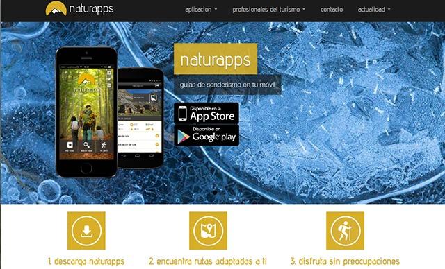 Naturapps, La guía de Senderismo para llevar en tú móvil