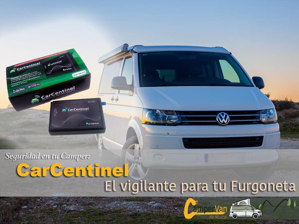 CarCentinel, un vigilante para tu furgoneta o Autocaravana
