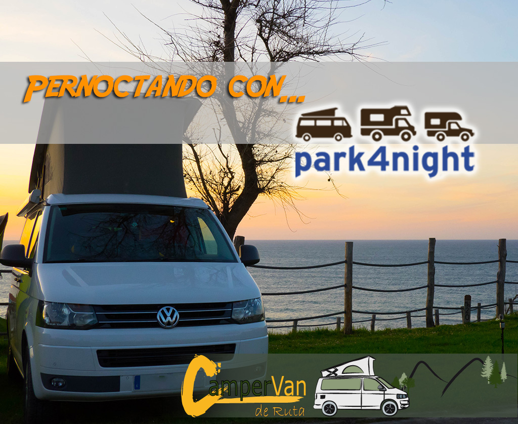 Park4night, app indispensable para encontrar lugar de pernocta