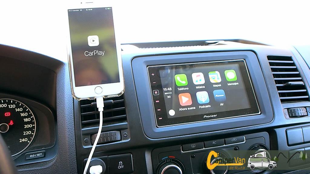 Soporte Smartphone para la VolksWagen T5
