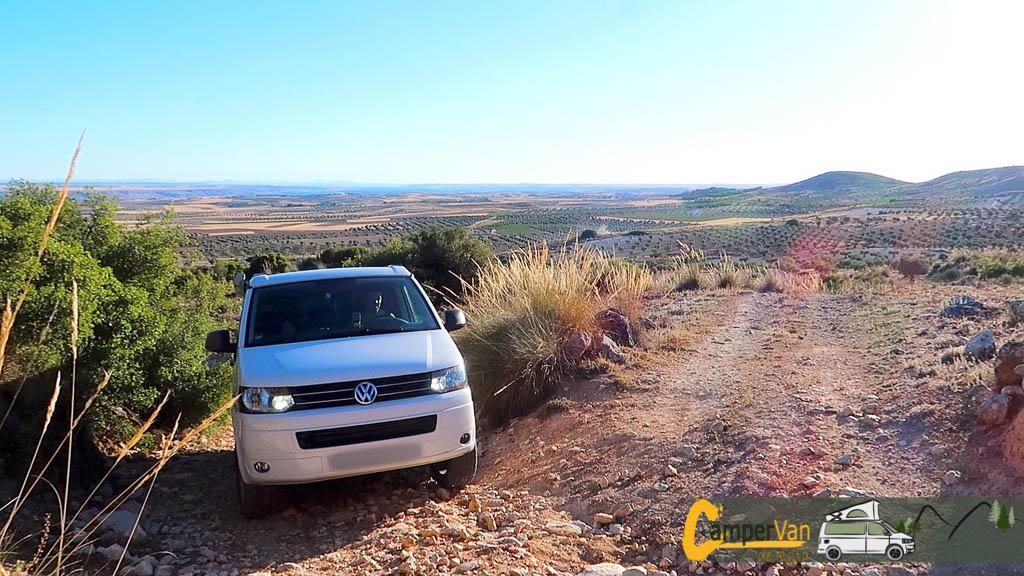 Kit de suspensión Seikel Desert para Volkswagen T5