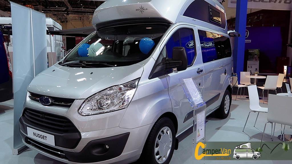 Westfalia Ford Transit Nugget Todo lo que necesitas en una furgoneta camper en tan solo 5m