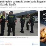 acampada ilegal